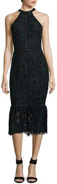 Alexia Admor Women's Embroidered Lace Cocktail Dress