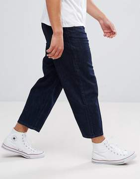 Kiomi Wide Leg Jeans In Rinse Wash