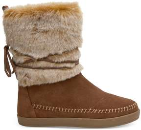 Toms Nepal Suede Mixed Media Pull-On Boot