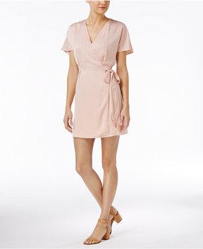 Bar III Faux-Wrap Dress, Created for Macy's