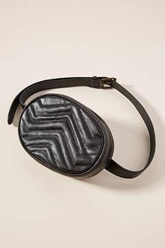 Anthropologie Quilted Belt Bag