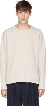 Acne Studios Beige Nicholas Sweater