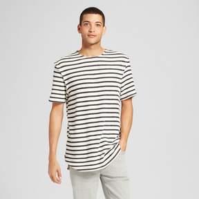 Jackson Men's Dropped Shoulder T-Shirt Black Stripe