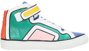 Pierre Hardy March Multicolor Leather Sneakers