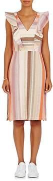 Ace&Jig Women's Magdalena Striped Cotton-Blend Midi-Dress