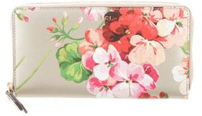 Gucci Blooms Leather Continental Wallet - PATTERN PRINTS - STYLE