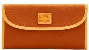 Dooney & Bourke Patterson Leather Continental Clutch Wallet - DESERT - STYLE