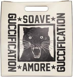 Gucci Soave Amore Guccification print tote