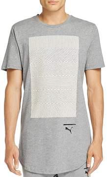 Puma Evo Knit Graphic Short Sleeve Tee
