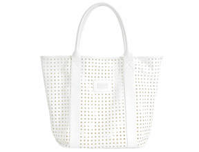 Geo Cut-Out Tote