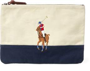 Ralph Lauren Big Pony Cotton Pouch