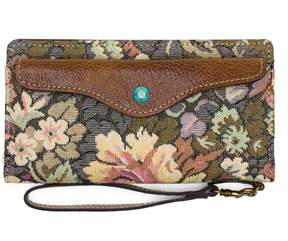 Patricia Nash Velentia Tapestry Snap Wristlet