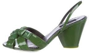 Marc Jacobs Studded Slingback Sandals w/ Tags