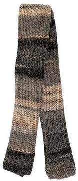 Zadig & Voltaire Striped Knit Scarf
