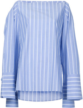 Dion Lee striped poplin shirt