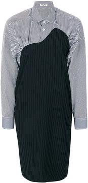 Aalto contrast shirt dress