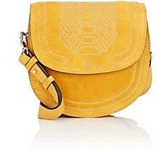 Altuzarra Women's Ghianda Small Suede Saddle Bag - Yellow