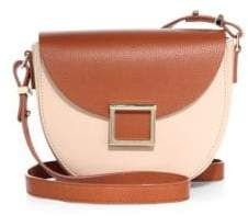 Jason Wu Mini Jaime Two-Tone Leather Saddle Bag
