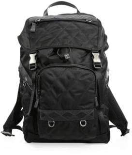 Prada Quilted Nero Backpack