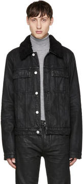 Helmut Lang Black Denim Mr 87 Jacket