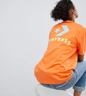 Converse Exclusive To ASOS T-Shirt In Orange