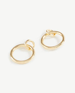 Ann Taylor Classic Hoop Earrings