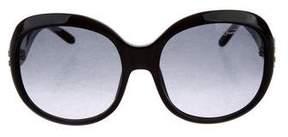 Roberto Cavalli Gradient Embellished Sunglasses