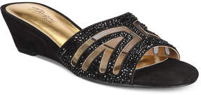 Thalia Sodi Rallie Slide-On Wedge Sandals, Created for Macy's Women's Shoes