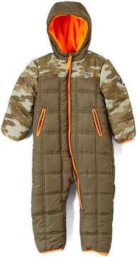 Weatherproof Olive Camo Hooded Snowsuit - Infant