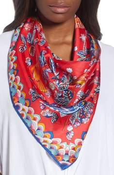 Echo Flight of Fancy Square Silk Scarf