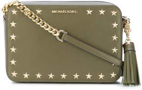 MICHAEL Michael Kors Ginny star stud crossbody bag