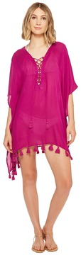 Becca by Rebecca Virtue Wanderer Poncho Cover-Up