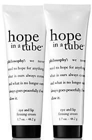 philosophy Super-Size Hope In A Tube Eye & Lipcream Duo