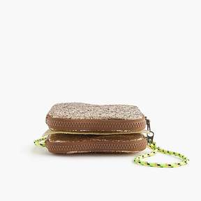 J.Crew Girls' glitter grilled cheese bag