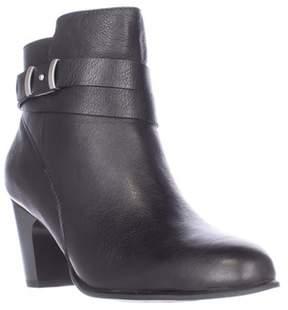Giani Bernini Gb35 Calae Almond Toe Dress Ankle Boots, Black.