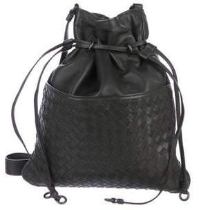 Bottega Veneta Intrecciato Bucket Crossbody Bag