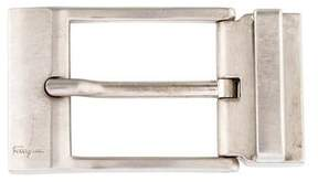 Salvatore Ferragamo Engraved Belt Buckle
