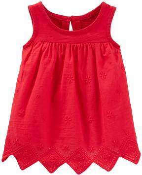 Osh Kosh Oshkosh Bgosh Baby Girl Embroidered Top