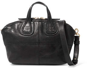 Givenchy Micro Nightingale Textured-leather Shoulder Bag - Black