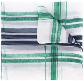 Oscar de la Renta check print scarf