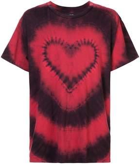 Amiri heart tie-dye T-shirt
