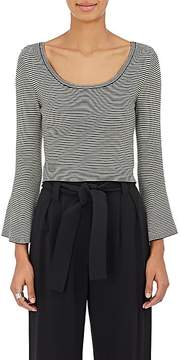A.L.C. Women's West Striped Wool-Blend Crop Sweater
