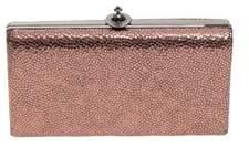 Vivienne Westwood Women's Pink Leather Clutch.