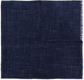 Salvatore Ferragamo check print scarf