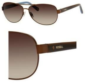 Fossil 2004/S Sunglasses 01P5 58 Matte Brown (Y6