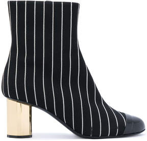 Marco De Vincenzo striped ankle boots