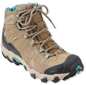 L.L. Bean Women's Oboz Bridger Waterproof Hiking Boots, Insulated