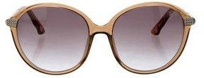 Swarovski Callie Oval Sunglasses