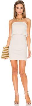 Susana Monaco Strapless Overlay Dress