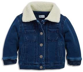 Splendid Boys' Denim Look Sherpa Jacket - Baby